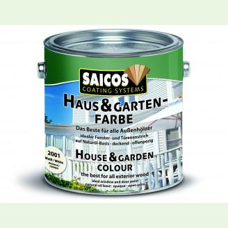 Краска для дома и сада SAICOS Haus und Garten Farbe