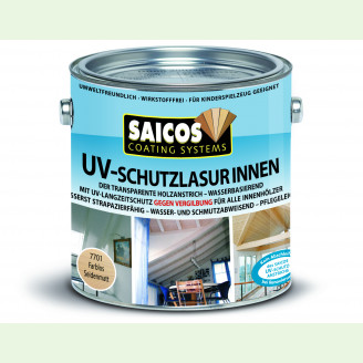 Защитная лазурь с УФ-фильтром внутр. SAICOS UV Schutzlasur Innen