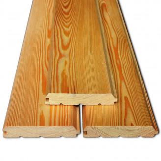 Имитация бруса сорт A 21x146x4000 мм (лиственница)