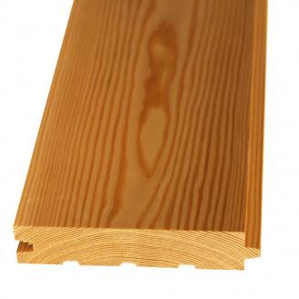 Половая доска (шпунт) сорт Экстра 45x145x3000 (лиственница)