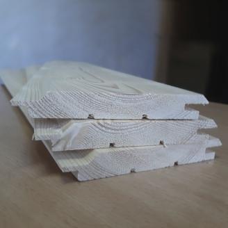 Имитация бруса карельский профиль сорт ВС 21х196х3000 мм (сосна, ель)