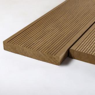 Террасная доска термо-сосна сорт Экстра 25x140x5000 мм