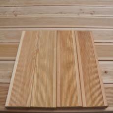 Террасная доска сорт Прима 45x145x5000 (Лиственница)
